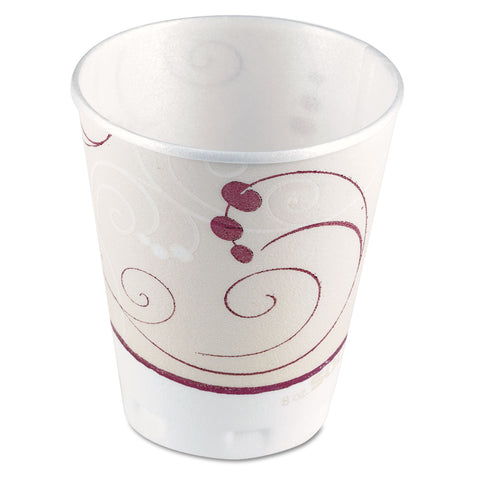 Jazz Trophy Plus Dual Temperature Cups, 8 oz, 100/Bag