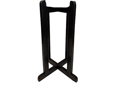 "27"" Wood Painted Stand - Black"