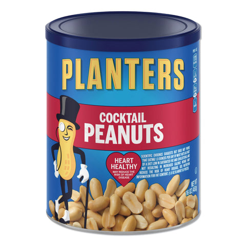 Planters Cocktail Peanuts, 16 oz Can