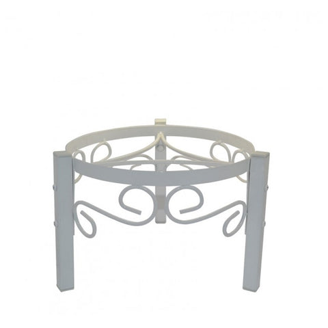 Metal Counter Stand - White