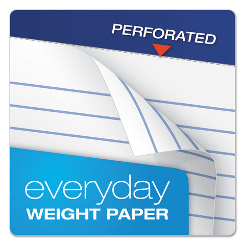 Ampad Perforated Writing Pads, Narrow Rule, 3 x 5, 50 Sheets, Dozen