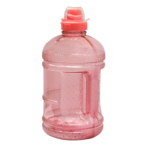 1/2 Gallon BPA Free Water Bottle with Sports Top - Pink