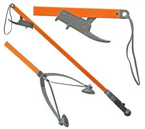 "32"" Orang-U-Tongs LITE plastic pick-up tool - Orange - 32"""