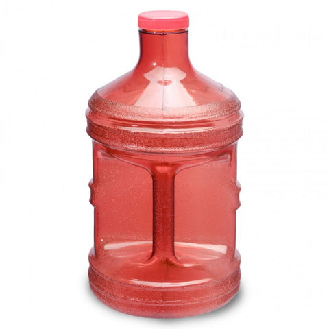 Polycarbonate Round Water Bottle - Red