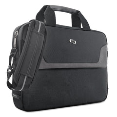 "Solo Pro Slim Brief, 16"", 15 1/2"" x 2"" x 11 1/2"", Black"