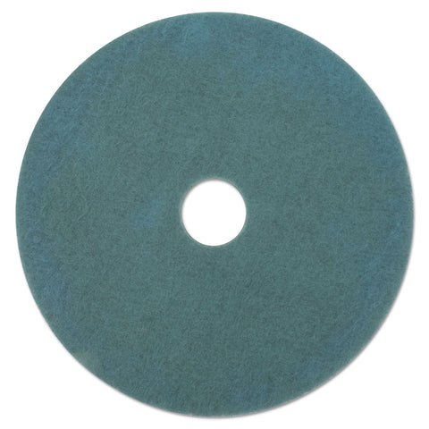 "Boardwalk Aqua Burnishing Floor Pads, 19"" Diameter, 5/Carton"