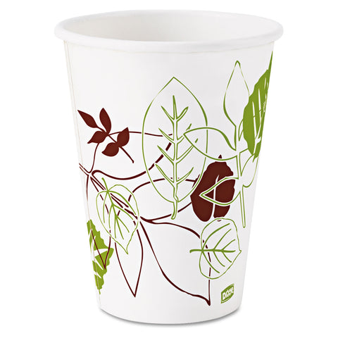 Dixie Pathways Paper Hot Cups, 12oz, 25/Pack