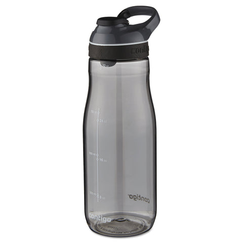 Contigo Cortland AUTOSEAL Water Bottle, 32 oz, Smoke, Plastic
