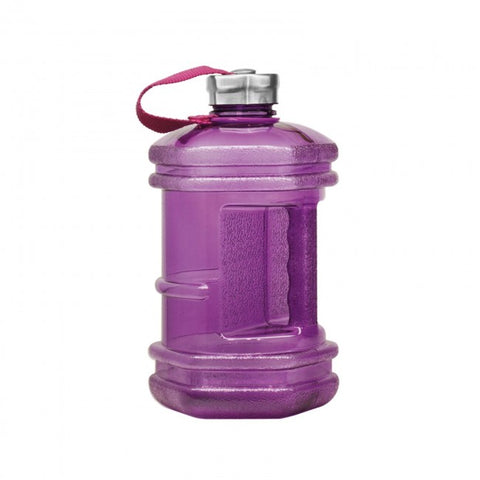 BPA Free Hexagon Water Bottle - Purple