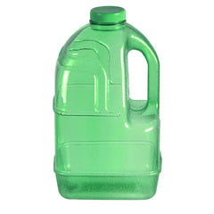 1 Gallon BPA Free Dairy Juice Water Bottle - Green - Green / 1 Gallon / BPA Free Plastic