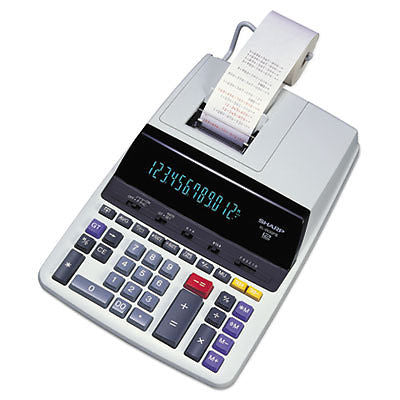 EL1197PIII Two-Color Printing Desktop Calculator, Black/Red Print, 4.5 Lines/Sec