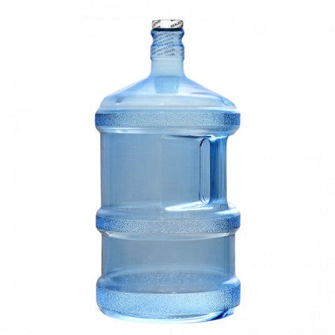 3 Gallon Polycarbonate Tall Water Jug Bottle - Screw On Top - 3 Gal. / Polycarbonate Plastic - 3 Gal. / Polycarbonate Plastic