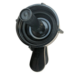 55MM Snap On Water Dispenser Valve - Black - Black / Plastic / Faucet