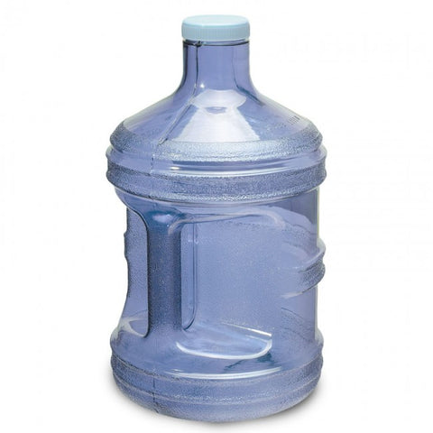 1 Gallon Polycarbonate Round Water Bottle - Dark Blue