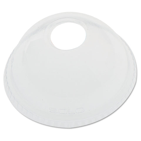 Dart Ultra Clear Dome Cold Cup Lids f/16-24 oz Cups, PET, 1000/Carton