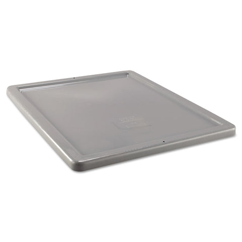 Rubbermaid Commercial Palletote Box Lid, Gray