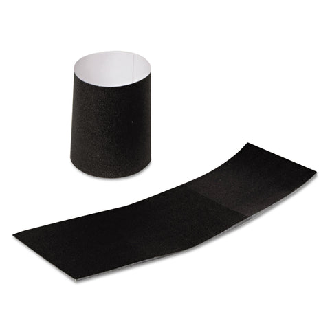 "AmerCareRoyal Napkin Bands, Paper, Black, 1 1/2"", 4000/Carton"