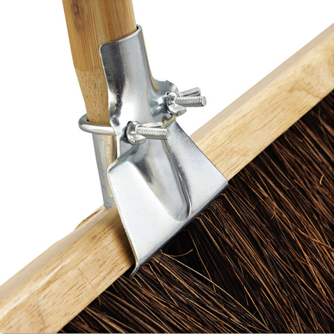 "Boardwalk Floor Brush Head, 36"" Wide, Palmyra Bristles - Brown"