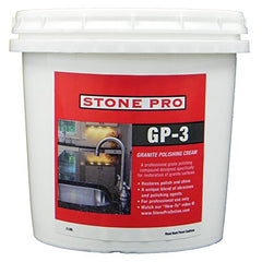 Stone Pro Gp-3 - Granite Polishing Cream - 2 Pound - 2 Pound