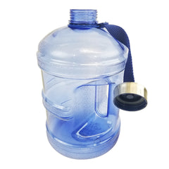 1 Gallon BPA Free Water Bottle w/ Stainless Steel Cap - Dark Blue - Dark Blue / 1 Gallon / BPA Free Plastic - Dark Blue / 1 Gallon / BPA Free Plastic