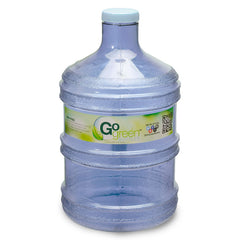 1 Gallon BPA Free Round Drinking Water Bottle - Dark Blue - Dark Blue / 1 Gallon / BPA Free Plastic
