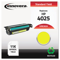 Innovera Remanufactured Yellow Toner, Replacement for HP 648A (CE262A), 11,000 Page-Yield