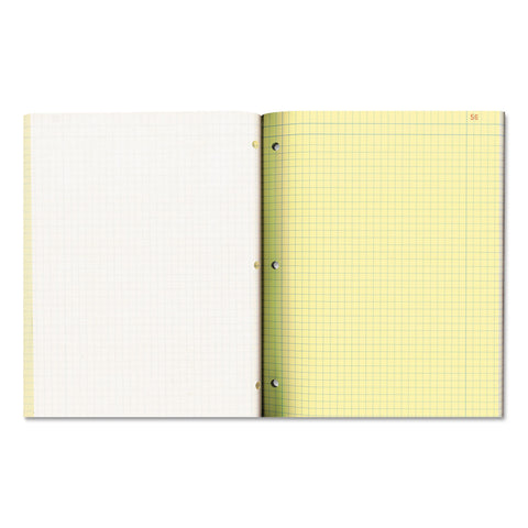 National Duplicate Laboratory Notebooks, Quadrille, 11 x 9 1/4, Assorted, 200 Sheets - Assorted / 11 x 9.25