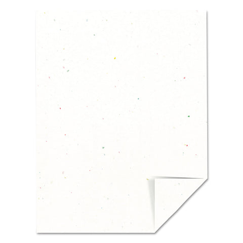 Astrobrights Color Paper, 24lb, 8.5 x 11, Stardust White, 500/Ream - Stardust White™ / 8.5 x 11