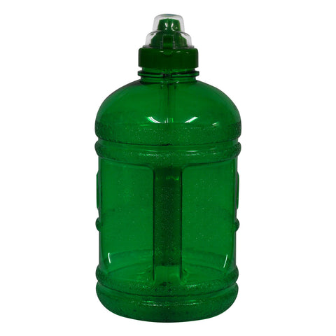 Water Bottle with Sports Top - Green