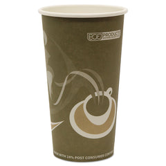Eco-Products Evolution World 24% Recycled Content Hot Cups - 20oz., 50/PK, 20 PK/CT