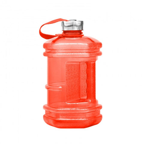2.3 Liter BPA Free Hexagon Water Bottle - Red - Red / 2.3 Liter / BPA Free Plastic