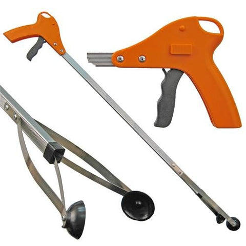 "40"" Orang-U-Tongs STANDARD Litter pick-up tool - Orange"