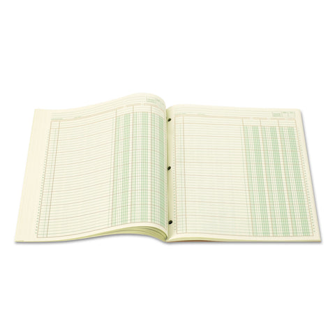 Wilson Jones Accounting Pad, Three Eight-Unit Columns, 8-1/2 x 11, 50-Sheet Pad