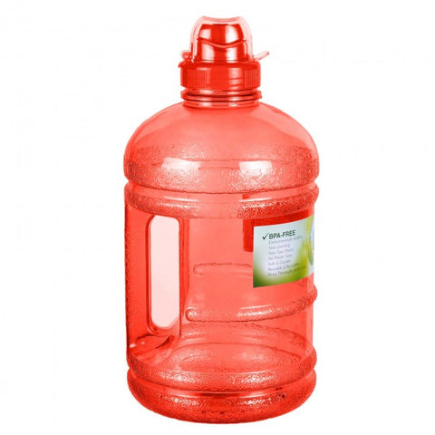 Water Bottle with Sports Top - Red