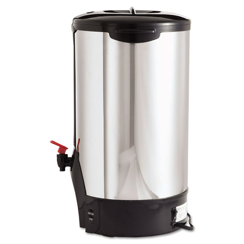 Coffee Pro 100-Cup Percolating Urn, Stainless Steel