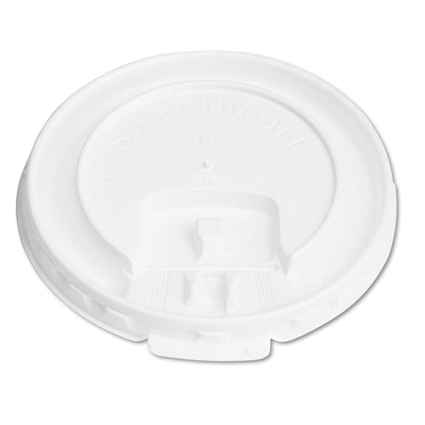 Dart Lift Back & Lock Tab Cup Lids for Foam Cups, For SLOX8J, White, 2000/Carton