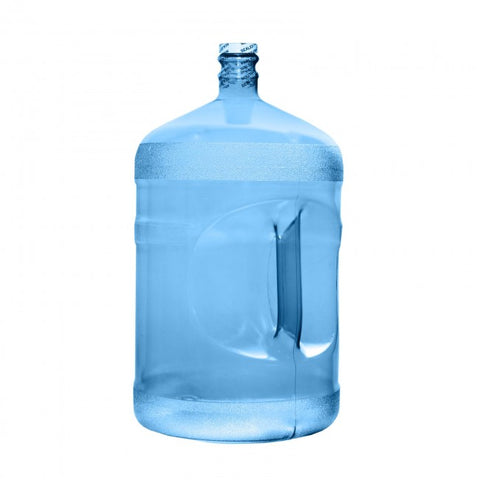 5 Gallon Polycarbonate Water Jug Bottle - Blue Screw On Top - Blue / 5 Gallon / Polycarbonate Plastic