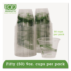 GreenStripe Renewable & Compostable Cold Cups Convenience Pack- 9oz., 50/PK
