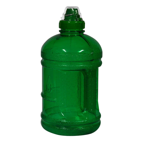 1/2 Gallon BPA Free Water Bottle with Sports Top - Green - Green / 1/2 Gallon / BPA Free Plastic - Green / 1/2 Gallon / BPA Free Plastic