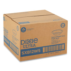 Dixie Ultra Pathways w/Soak Proof Shield Heavyweight Paper Bowls, 12oz, Green/Burg, 500/Ct