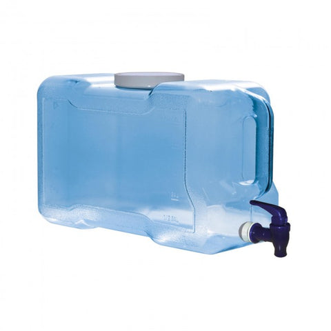 3 Gallon BPA Free Refrigerator Bottle with Dispenser - Blue - Blue / 3 Gal. / BPA Free Plastic - Blue / 3 Gal. / BPA Free Plastic