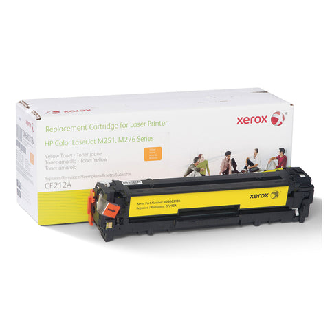 Xerox 006R03184 Replacement Toner for CF212A (131A), Yellow