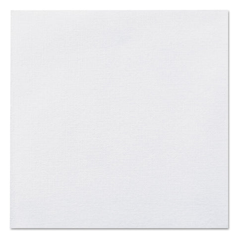 Hoffmaster Linen-Like Beverage Napkins, 1-Ply, 10 x 10, White, 125/Pack, 8 Packs/Carton