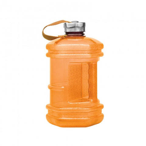 BPA Free Hexagon Water Bottle - Orange