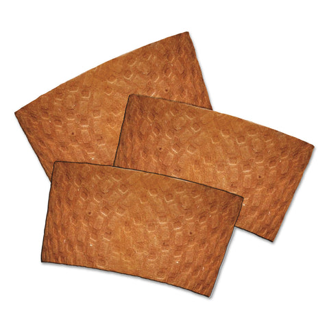 Dopaco Kraft Hot Cup Sleeves, For 10-24 oz Cups, Brown, 1000/Carton