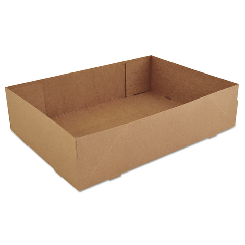 SCT Donut Trays, 13.5 x 9.88 x 3.38, Brown, 250/Carton