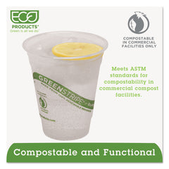 GreenStripe Renewable & Compostable Cold Cups - 12oz., 50/PK, 20 PK/CT