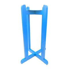 Wood Painted Stand - Light Blue