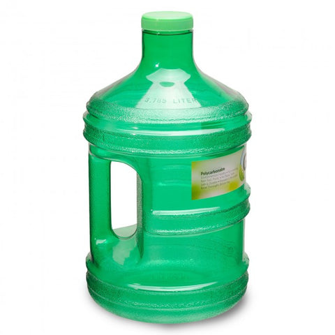 Polycarbonate Round Water Bottle - Green