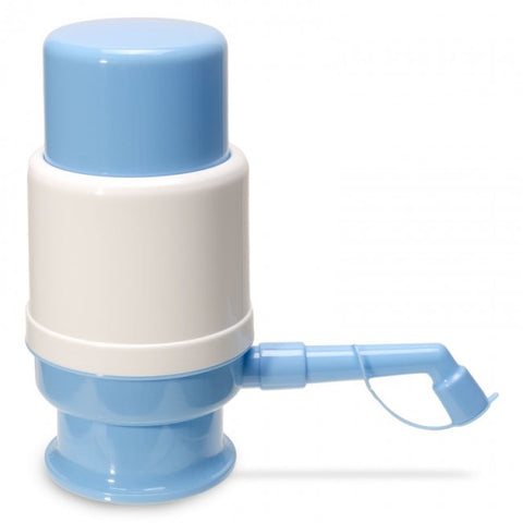 Mini Snap On 55Mm Manual Water Pump - Light Blue / Plastic